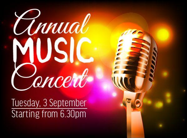 Annual Music Concert