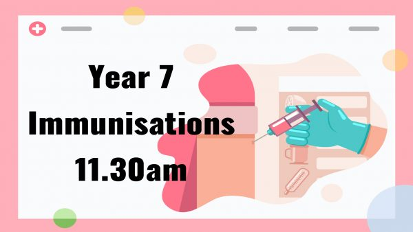 Year 7 Immunisations
