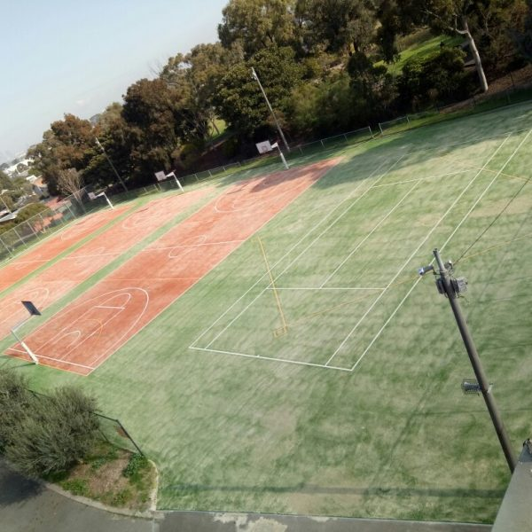 New Sports Courts at St John's College - 1