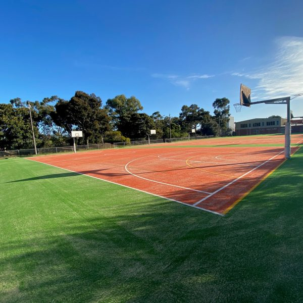 New Sports Courts at St John's College - 3
