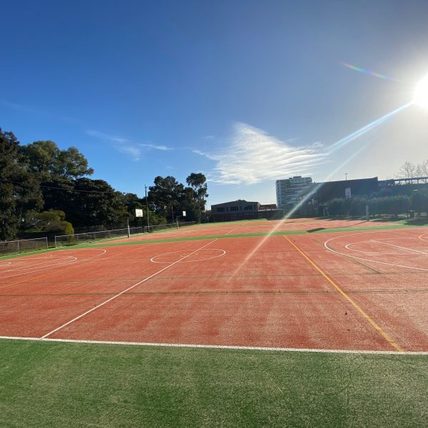 New Sports Courts at St John's College - 4