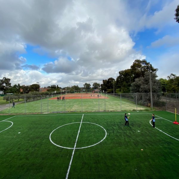 New Sports Courts at St John's College - 5